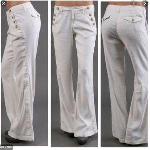 Antropologie Level 99 Jerry Sailor Wide Leg Pants